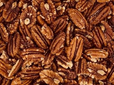 Pecannoten gebrand en gezouten