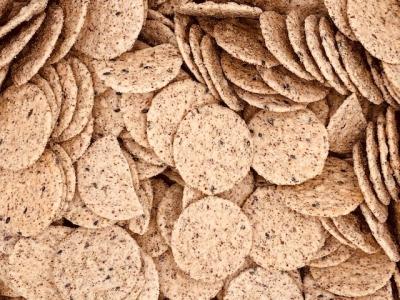 Sesamcrackers met peper (stazak)